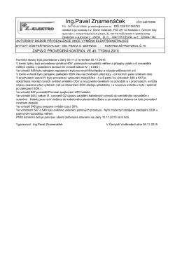 Stáhnout PDF - Společenství vlastníků Feřtekova 538-548