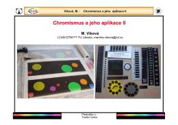 10. Chromismus II