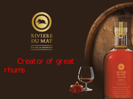 Traditional Rum - Eshop Interdrinks