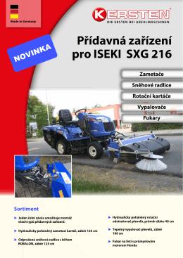 Kersten pro Iseki SGX216