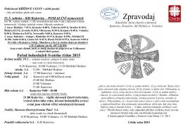 zpravodaj fch katovice c. 1 2015