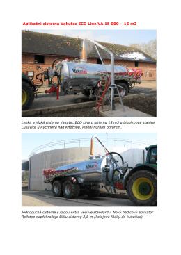 Výhody nové cisterny Vakutec ECO Line - CRS