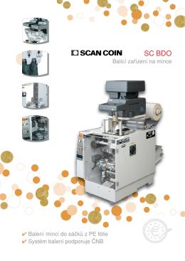 Balící zařízení na mince SC BDO