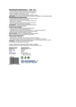 Náhradní filtrační vložka Marimex 59900