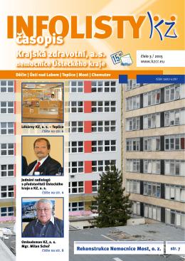 časopis - Krajská zdravotní, as