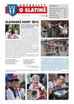 aktuality o slatině slatinské hody 2015 - Brno