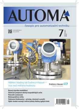časopis pro automatizační techniku