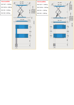 Verze na podlahu RAV 518 T – 3.000 kg RAV 518