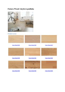 Futura Wood vinylová podlaha