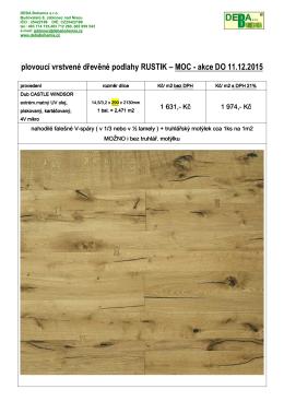 100% ORIGINÁLNÍ dřevěné podlahy z RUČNĚ OPRACOVANÝCH