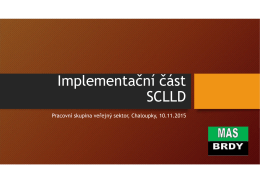 Prezentace SCLLD