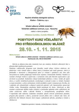 Kurz včelařství 2