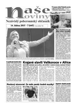 Číslo 7 - naše noviny archiv