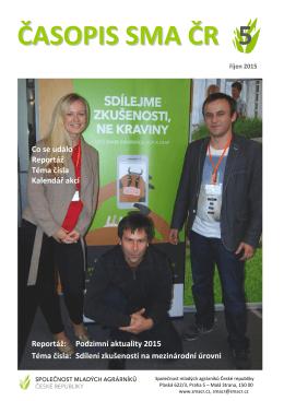 Časopis SMA ČR 5/2015