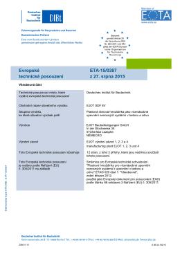 ETA-15-0387_EJOT SDF 8V_cz_preklad