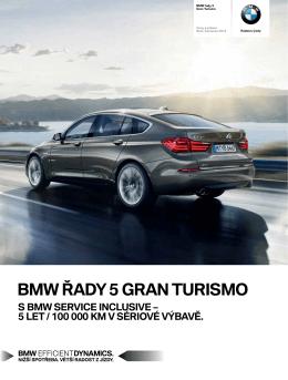 BMW ŘADY 5 GRAN TURISMO