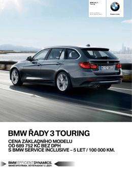 Aktuální ceník BMW řady 3 Touring. (PDF, CS , 682,22 KB)