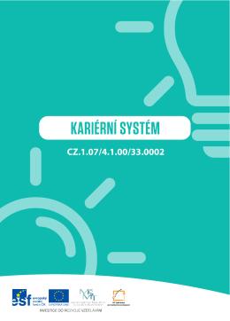 Kariérní systém - informační brožura