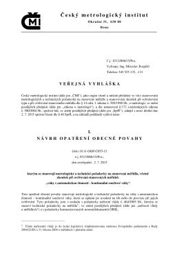 Český metrologický institut
