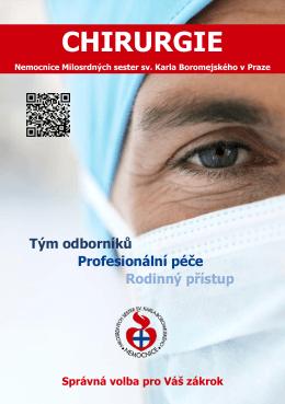 chirurgie - Nemocnice Milosrdných sester sv. Karla Boromejského v