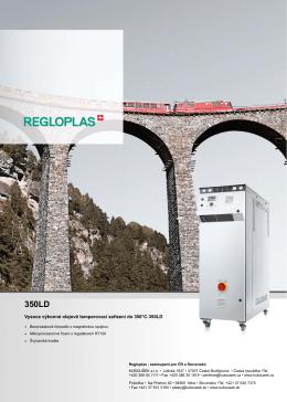 Vysoce výkonné olejově temperovací zařízení do 350°C:350LD