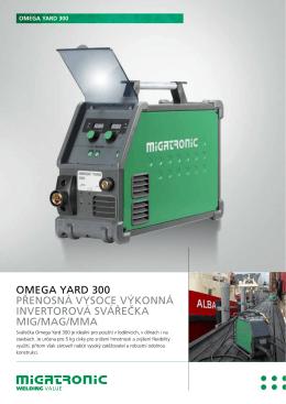 omega yard 300 přenosná vysoce výkonná invertorová