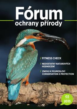 PDF 2/2015 ke stažení - Fórum ochrany přírody