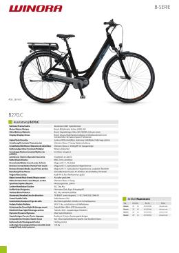 Katalog modelu WINORA B270.C