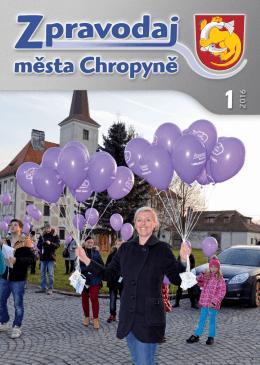 Číslo 1-2016 - Město Chropyně