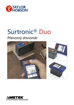 Surtronic® Duo