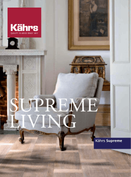 Kahrs_Supreme living.indd