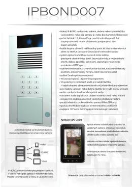 IPBOND007 leták