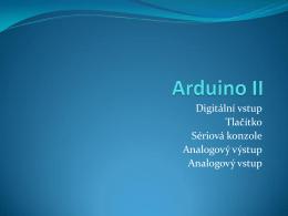 Arduino II