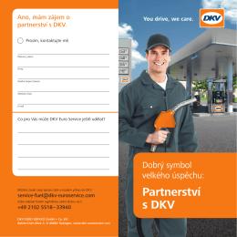 Partnerství s DKV