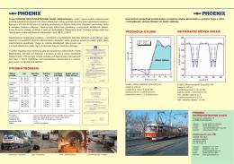 výrobní program prognóza útlumu deformační