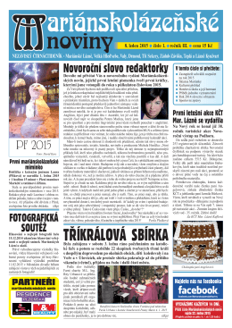 8. leden 2015 - Marianskelazne.TV