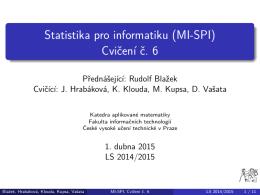 MI-SPI - webdev.fit.cvut.cz - České vysoké učení technické v Praze