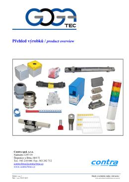 Váběr z produktů 2015