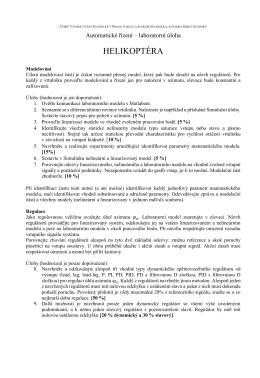 HELIKOPTÉRA - DCE FEL ČVUT v Praze
