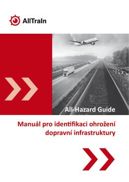 Manuál pro identifikaci ohrožení dopravní infrastruktury All