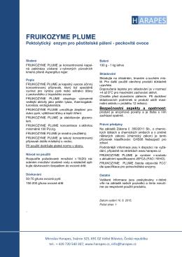 Specifikace - Harapes.cz