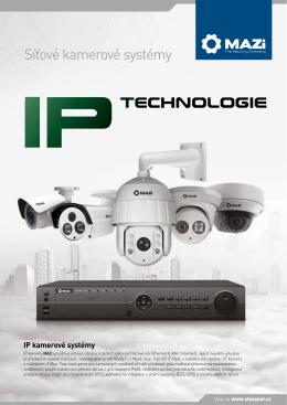 IP kamerové systémy MAZi