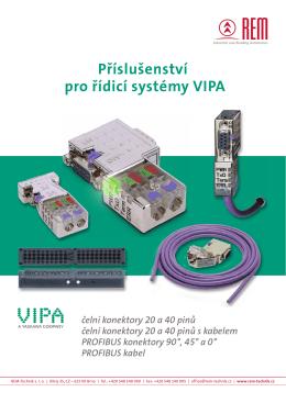 Ceník příslušenství pro řídicí systémy VIPA - REM
