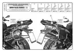 BMW F650/800GS - Sport Tour Ltd