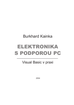 ELEKTRONIKA S PODPOROU PC