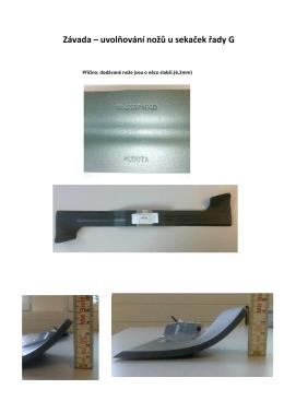 TI_G23_G26_Výměna nožů sečení