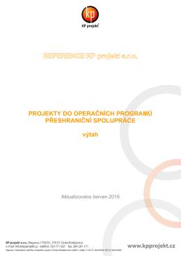Operační program Přeshraniční spolupráce ČR