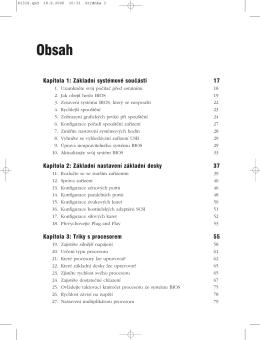 Obsah - CPress