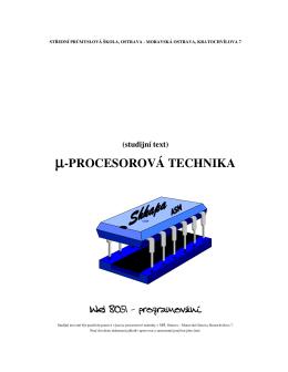 µ-PROCESOROVÁ TECHNIKA