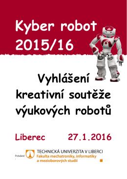 Kyber robot 2015/16